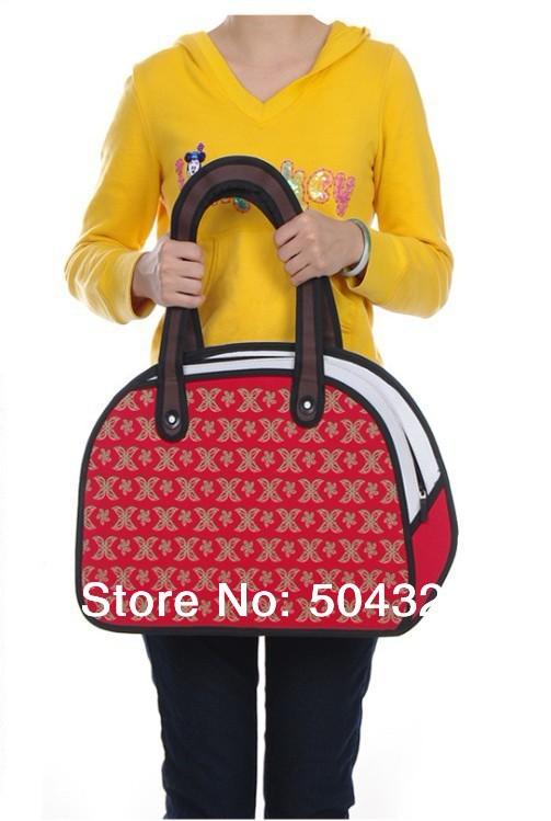 Free Shipping 1Piece Gismo Cartoon Bag 2D Drawing Cartoon Bag(China (Mainland))