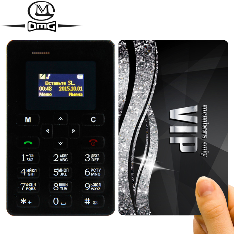 Russian keyboard AIEK M5 Slim Card Mobile Phone 4.5mm Ultra Thin Pocket Mini cell Phones Dual Band Low Radiation AEKU(China (Mainland))