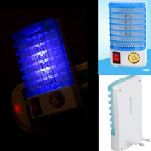 HOT! LED Socket Electric Mosquito Fly Bug Insect Night Lamp Killer Zapper(China (Mainland))