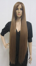 Long Synthetic Hair Brown