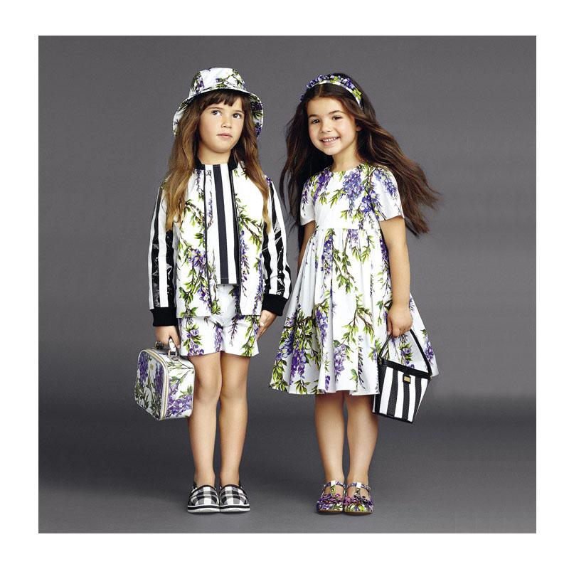 Toddler Girl Dress Fashion Disfraz Princesa Spring Summer Princess Dress Girl Designer Floral Toddler Girl Dress(China (Mainland))