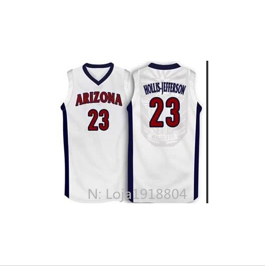 Basketball jersey design Rondae #23 Hollis - Jefferson any team, Custom all sizes, Stitched name and numbers, Arizona wildcats(China (Mainland))