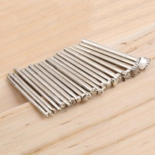 20pcs/set Leather Working Saddle metal Making Stamp Tools Carving Leather Craft Stamps Set Craft leather tools