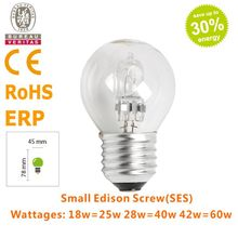 ECO halogen lamp/halogen bulb G45 220-240V 42W E27(China (Mainland))