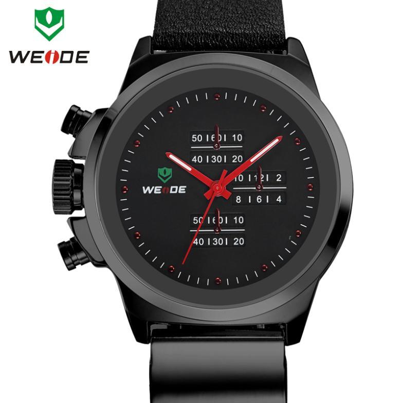 2015 Hot Sale 3atm New Genuine Soft Watchband Watch Men Brand Famous Original Japan Miyota 2035 Quartz Movement 1 Year Guarantee(China (Mainland))