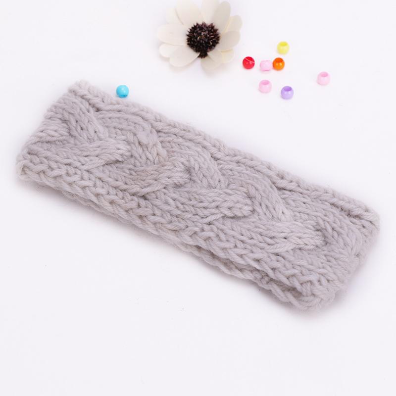 2016 Women Crochet small braids pattern Turban Knitted Head Wrap Hairband Winter Warmer Headband Hair Band Accessories #xmhtq(China (Mainland))