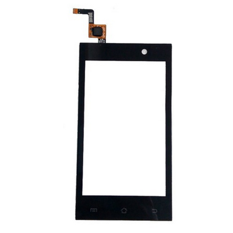 New Front Glass + Touch Screen Digitizer Micromax A093 Touch Glass With Sensor Replacement LCD Panel Capacitive Screen + Tape