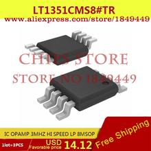Integrated Circuits Original LT1351CMS8#TR IC OPAMP 3MHZ HI SPEED LP 8MSOP LT1351CMS8 1351 LT1351 - Chips Store store