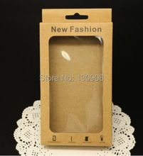 Joy Printed kraft paper packaging box for iphone 4 case packing size 156*90*15mm(China (Mainland))