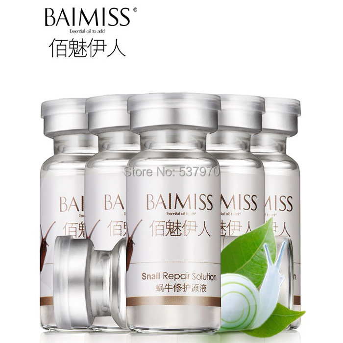 Repair Snail Pure Extract Moisturizers Whitening Skin RemoveAcne Treatment Anti-Aging Remove Scar Face Care Cream Serum Beauty<br><br>Aliexpress