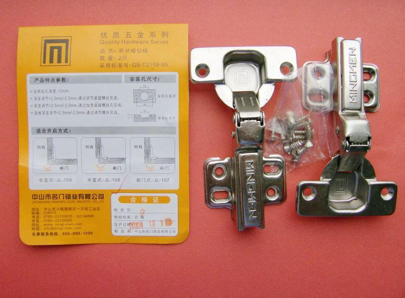 Soft Close Concealed hinges Inset Half Full Overlay Kitchen Cabinet Door(China (Mainland))