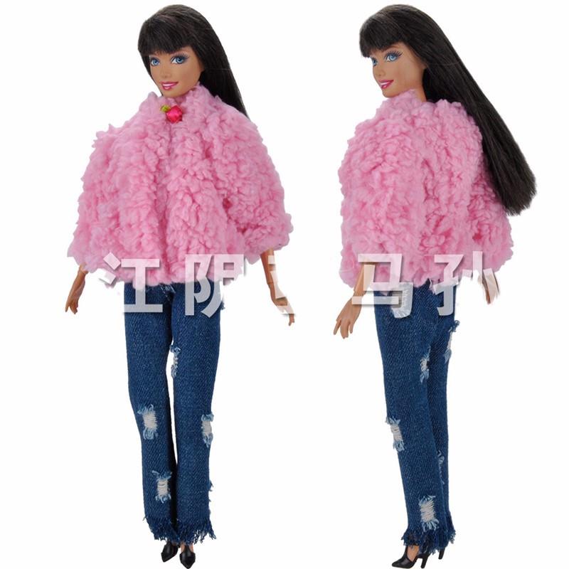Winter Sweater-Denims Garments Swimsuit for Barbie