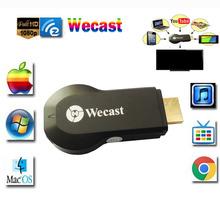 Original Wecast Miracast Dongle WIFI HDMI 1080P Streaming to TV Wireless Display Streamer Smart TV Stick(China (Mainland))