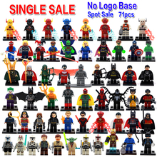 Single Sale Marvel Avengers DC Justice League Super Heroes Batman Harley Quinn Silver Surfer Building Blocks Model Bricks Toys(China (Mainland))