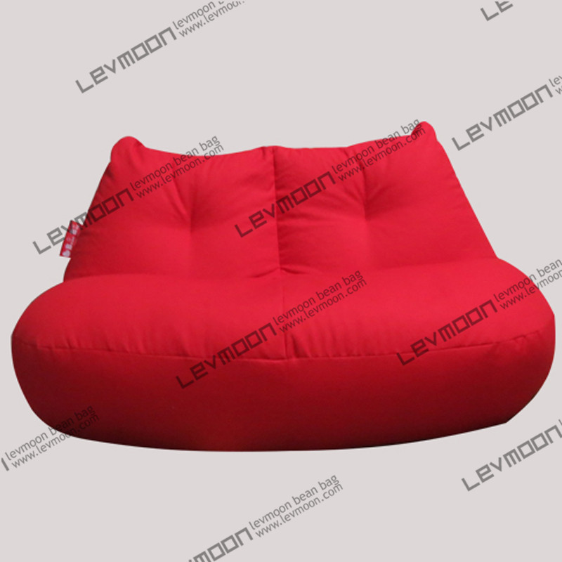 Фотография FREE SHIPPING red bean bag cover modern loveseat sofa chair 100% cotton canvas love seats bean bag furniture Double Sofa
