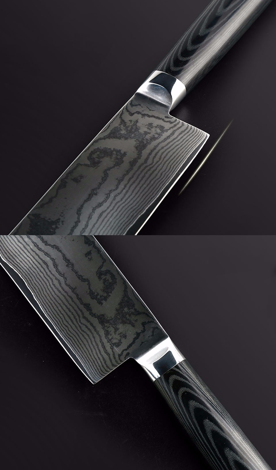 Buy free shipping LD Brand 7 inch Damascus knife chef knife VG-10 71 layers japan damascus steel kitchen knives cooking tools cheap