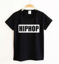 New Kids t shirt HIPHOP Letter Print Boy Girl tshirt Funny Shirt For Children Top Tee Black White TZ205-967(China (Mainland))