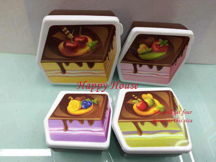 [해외]4 색 고품질의 아이 선물 중간 케이크 모델 지능형 playdoug..