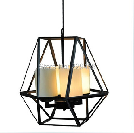 American Country Wrought Iron Loft Vintage Industrial Candle Pendant Light Bar Restaurant Luminaire E27 110-240V(China (Mainland))