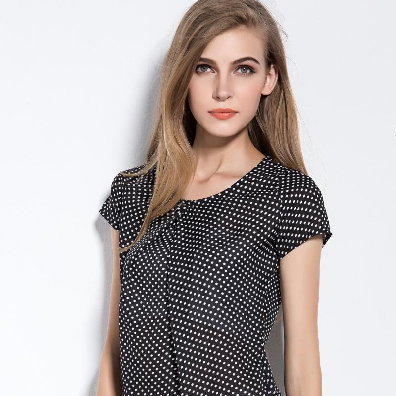 2015 Summer Women Blouses Chiffon Shirts Women Clo...