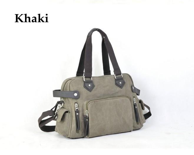 Korean Style Fashion Canvas Handbag Men Shoulder Messenger Bag Oversize Luggage Travel  Bags Men<br><br>Aliexpress