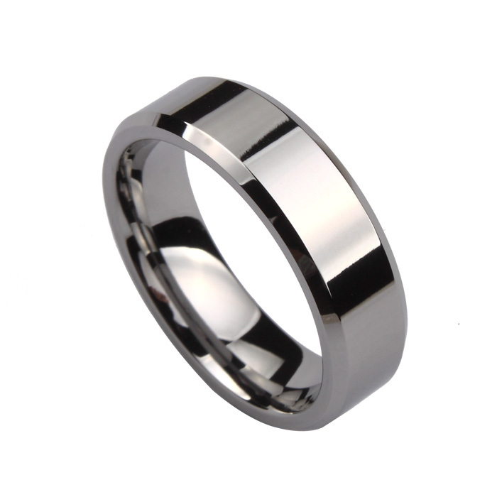 tungsten gold ring ring simple boys jewelry jpg