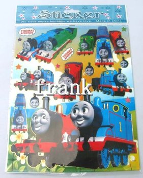 100pcs Thomas & friend Cartoon Wall Sticker decal home decoration