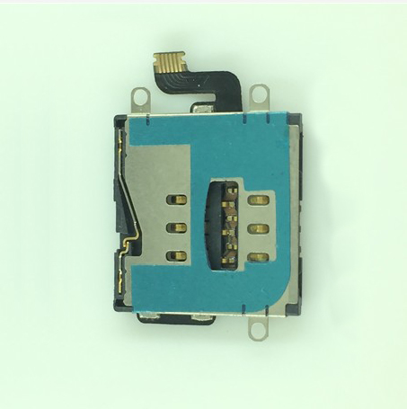 10pcs/lot Sim Card Holder Reader Flex Cable Replacement Part For iPad 3 4 WiFi/3G free shipping(China (Mainland))