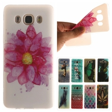 TPU Soft Case Samsung Galaxy J5 2016 J510F J510H Slim Silicon Phone Cover J510 Pineapple Flower Back - Only-1 store