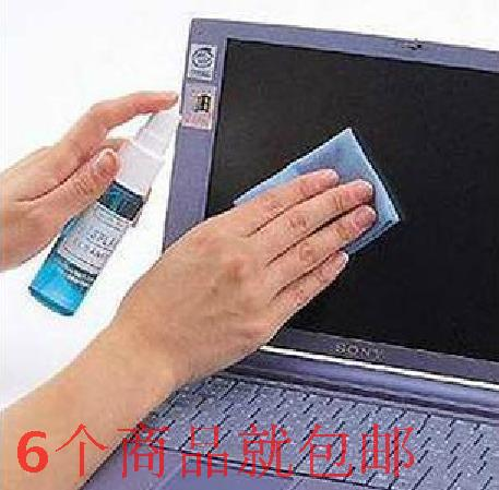 Free shipping Computer cleaning suit cleaning liquid mobile phone cleaner cleanser lcd screen piece set cleaning agent(China (Mainland))