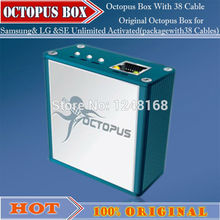 100% original Octopus Box for Samsung& LG &SE Unlimited Activated(packagewith 39 Cables)For S5 N900T&N900A&N9005 free shipping