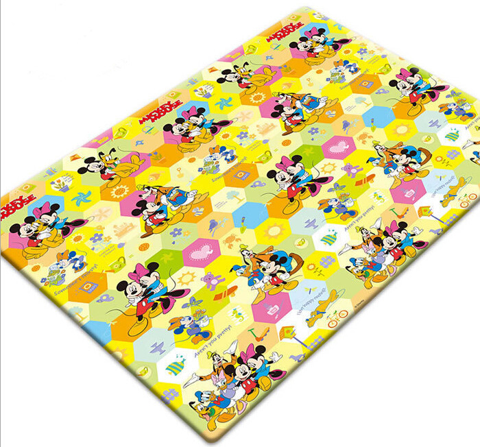 New Double-sided Baby Play Mat 200*200cm Baby Toy Mat Educational Games 2 Year Olds Playmat Baby Crawling Mat Foam Flooring Kids(China (Mainland))