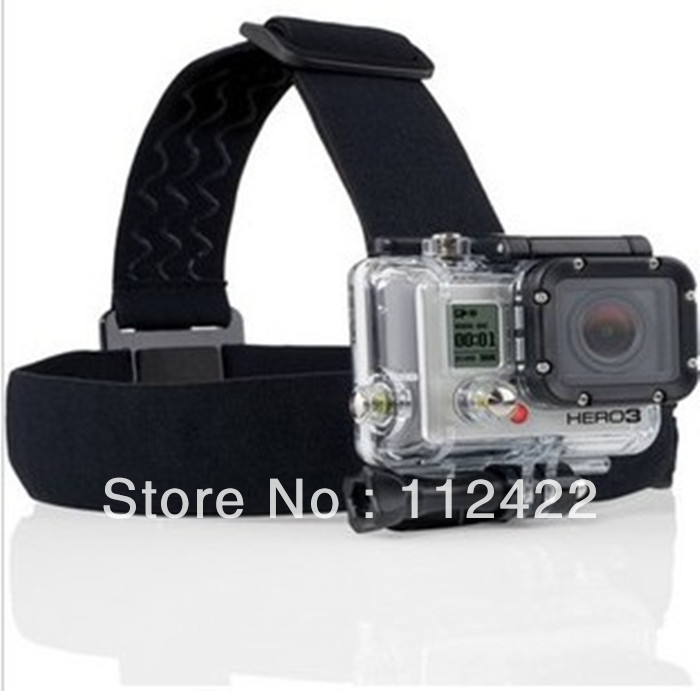 G TMC GoPro Hero2 / Hero3 Head Belt/ Helmet Strap Mount many colors to choose,free shipping