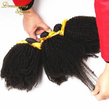 Buy 7A Peruvian Kinky Curly Virgin Hair Extensions 3pcs Afro Kinky Curly Hair Natural Black Human Hair Weave Rosa Hair Products for $68.00 in AliExpress store