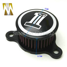 Air Cleaner Intake Filter For 2004-2014 Harley Sportster XL 883 1200 05 06 07 08(China (Mainland))