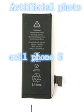 Free shipping new guarantee original battery for cell phone 5 replace battery