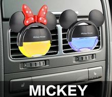 MICKEY Air Freshener Perfume Diffuser for Auto Car Perfume Holder Plastic Air Freshener Hot Sales Cleaner In Car 100 original(China (Mainland))