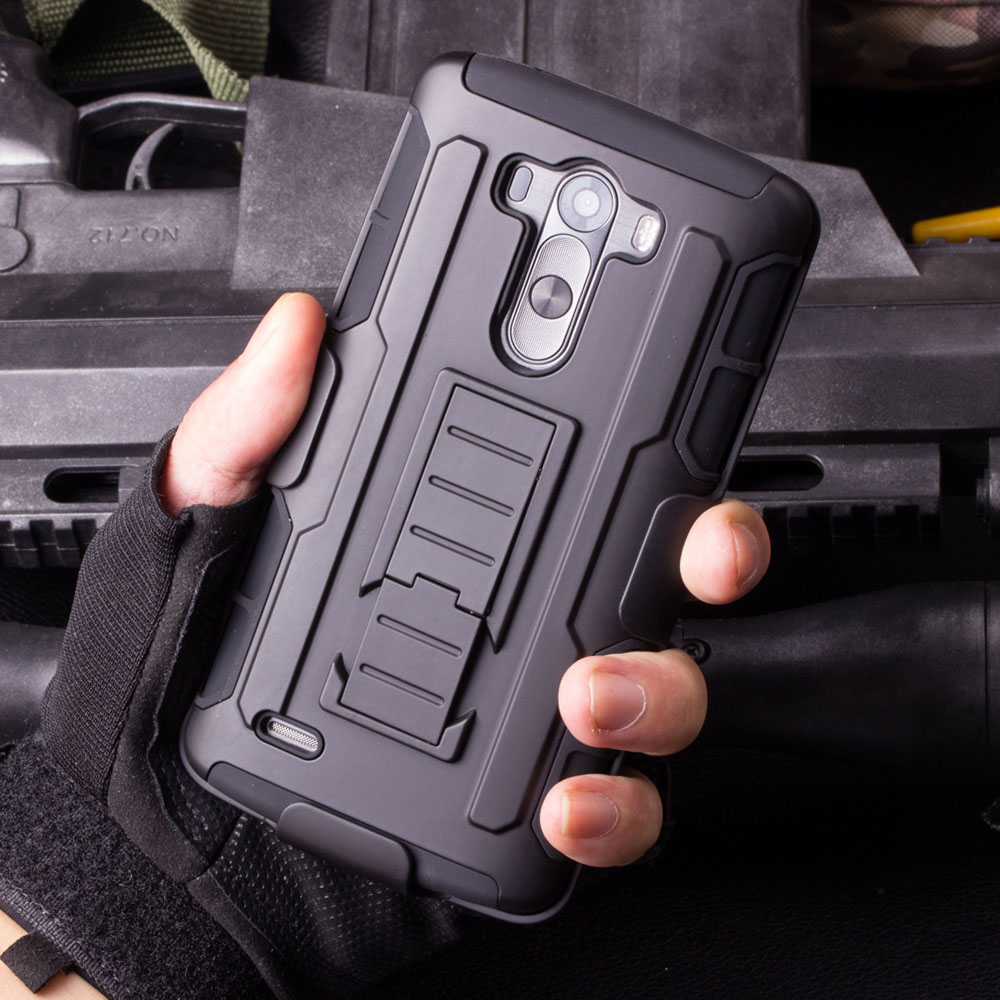 Rugged Case For LG G2 G3 G3C G4 G4C Best Mini Stylus LS770 V10 K7 Vista V880 Holster Hybrid Hard Cover Cell Phone Cases(China (Mainland))