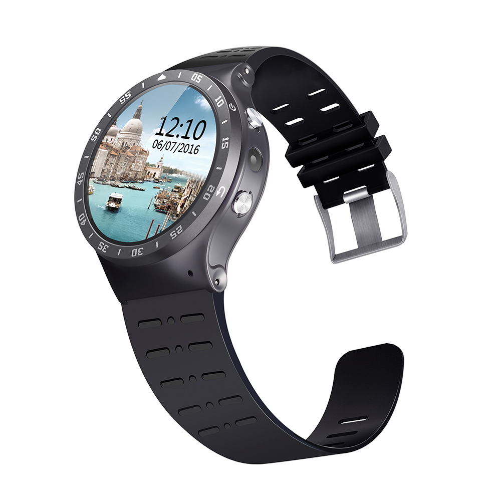 Smartwatch S99A Smart Wrist Watch 512M+8G Android Phone GPS/3G/WiFi Heart Rate Bluetooth Suport SIM Card Touch Screen 360*360
