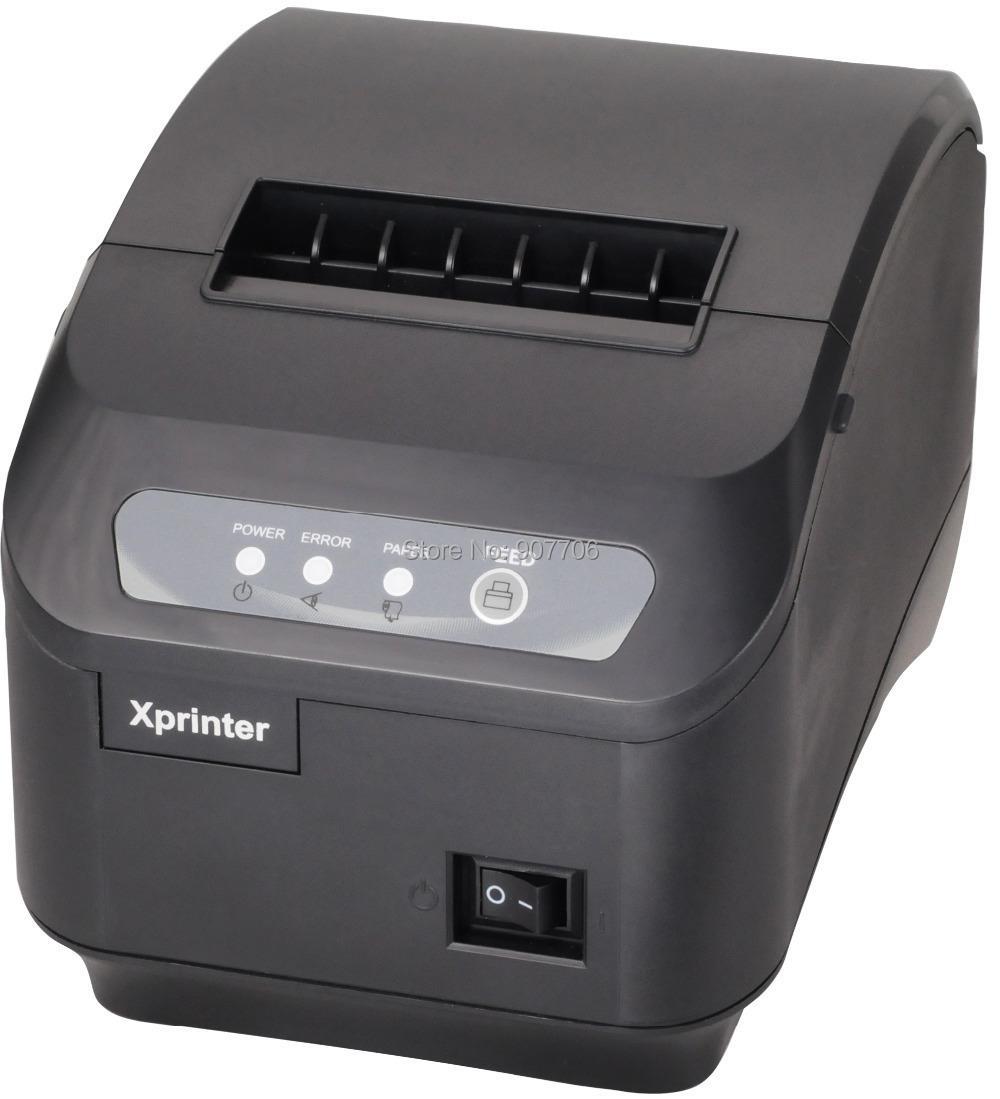 pos printer High quality 80mm thermal receipt printer XP-200II automatic cutting machine printing speed LAN interface 200 mm / s(China (Mainland))