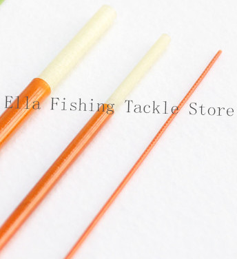 Classic fiberglass fly rod blank 7ft 6 inch 3pc 4wt for White fishing rod