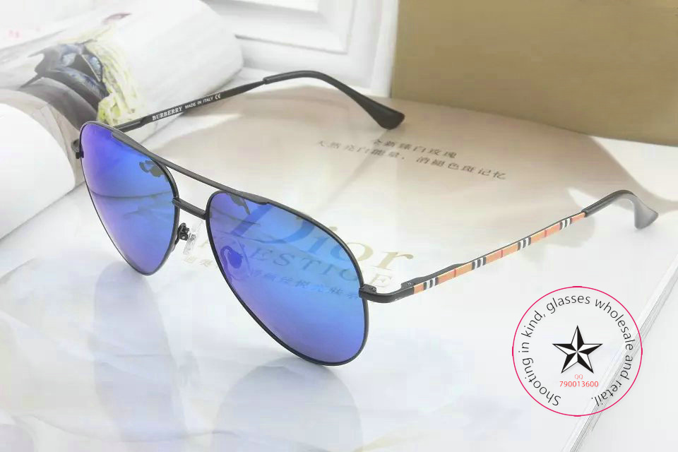 New luxury authentic BE4196 aviator sunglasses, fashion color film lady sunglasses, original box,(China (Mainland))