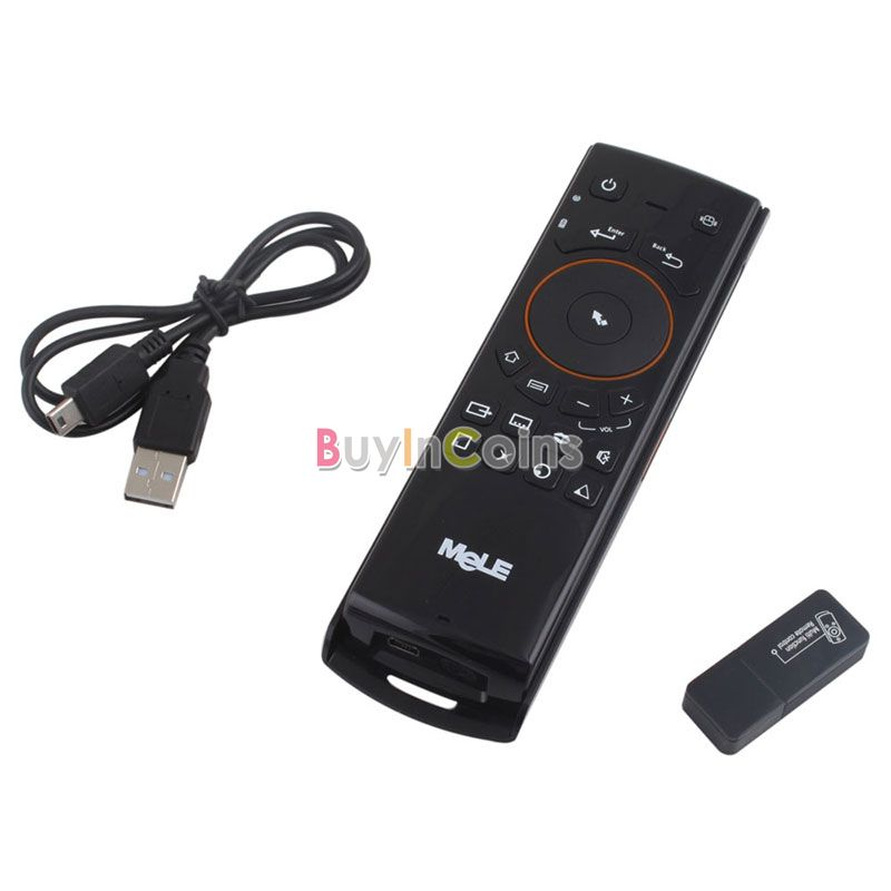MELE F10 Fly Air Mouse+Wilress Keyboard + TV Remote Control For Andriod TV PC US AS #27235(China (Mainland))