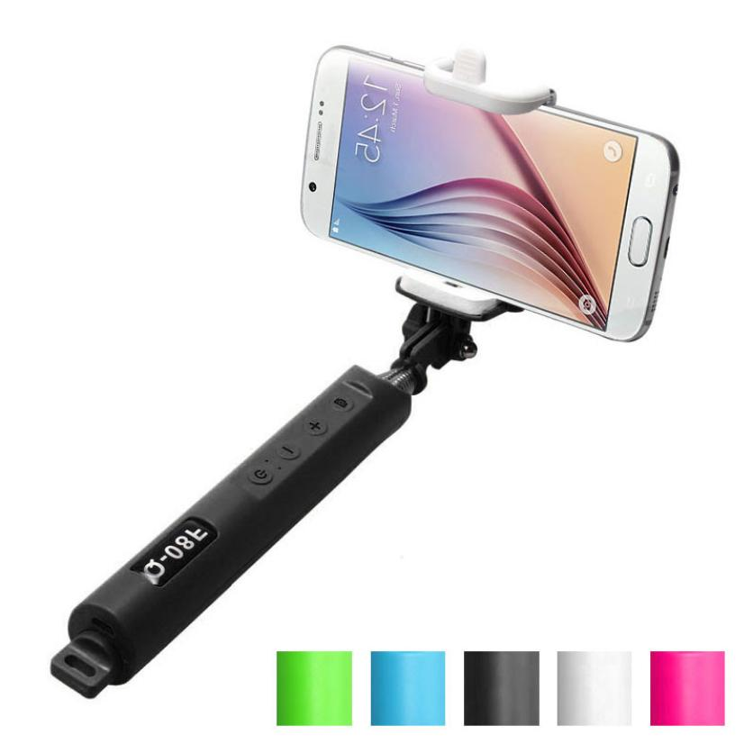 how to use monopod selfie stick with remote