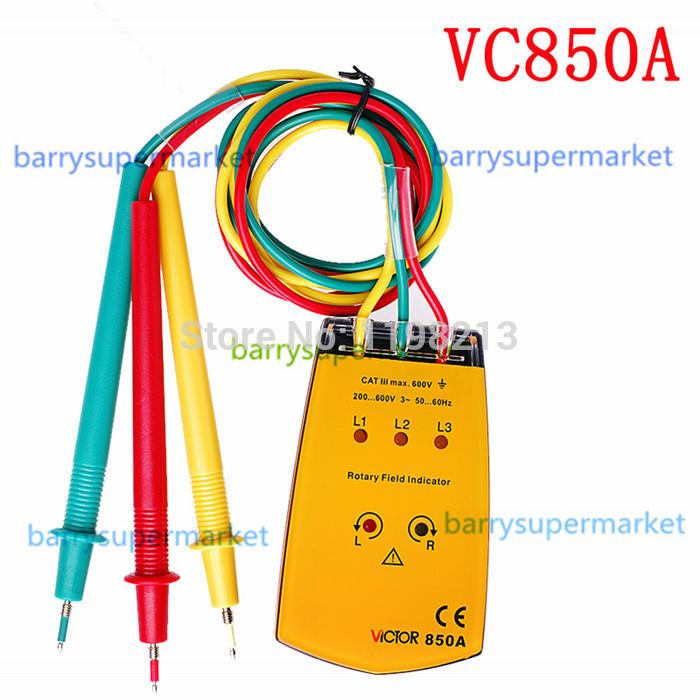 Счётчик энергии Detector Meter 5pcs vc/850a , 3 & 850A Phase Detector Meter