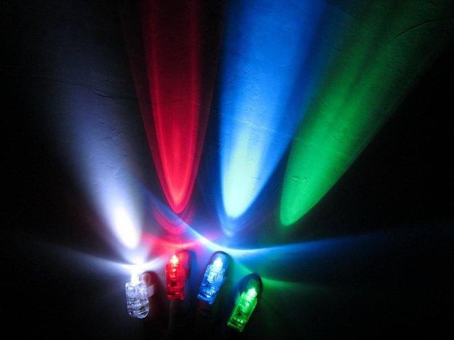 Free Shipping 50pcs/lot laser finger beams flashing finger lights flashing ring led finger lamp for Christmas
