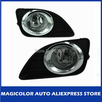 Chrome Rim Light Accessories Fog Lamp fit for Toyota Camry 2009