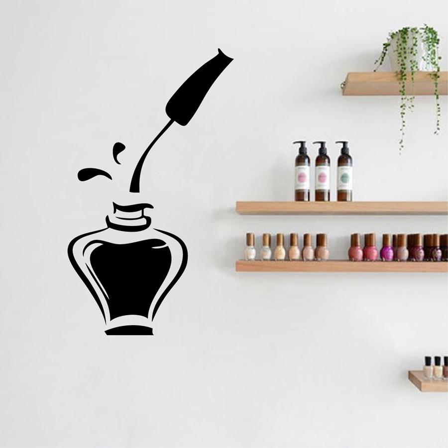 Compare prices on nail salon furniture online shopping - Stickers deco salon ...