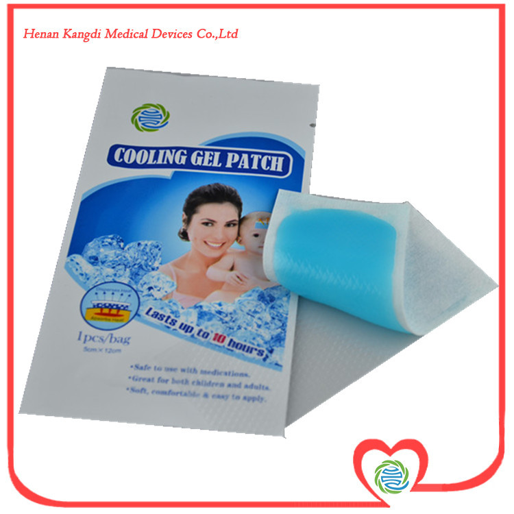 Wholesale Price 32Pcs/lot Cool Magic Gel Sheets Bring Fever Down Fever Patch Used To Headache And Fever In Children(China (Mainland))