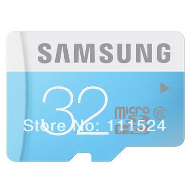 2014 New 100% Original Genuine Samsung C6 Micro SD card /TF 32gb micro sd Free Shipping micro sd card memory cards(China (Mainland))